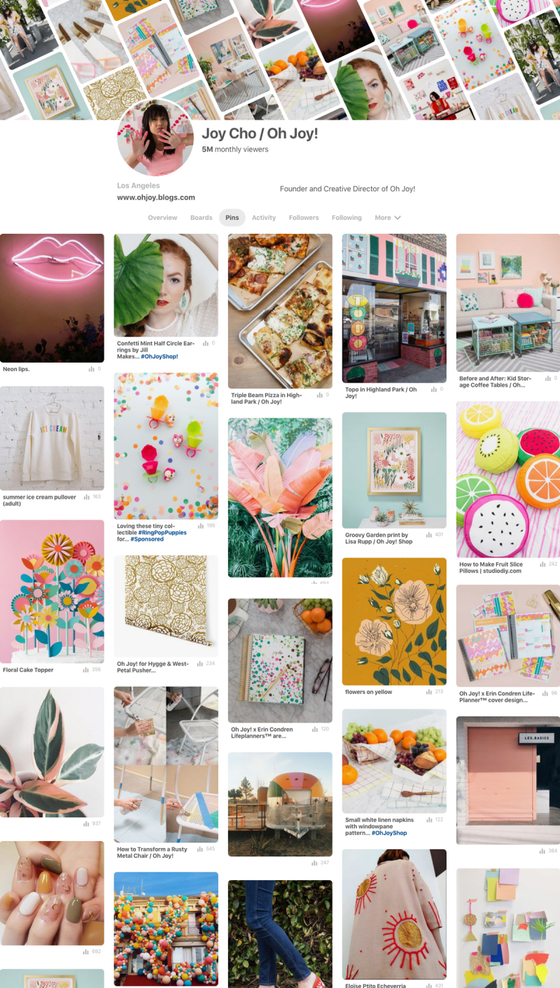 Pinterest 101 with Joy Cho of Oh Joy! / via Oh Joy!