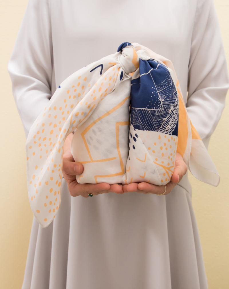 Three Ways to Furoshiki with Three Different Gifts... / Oh Joy!