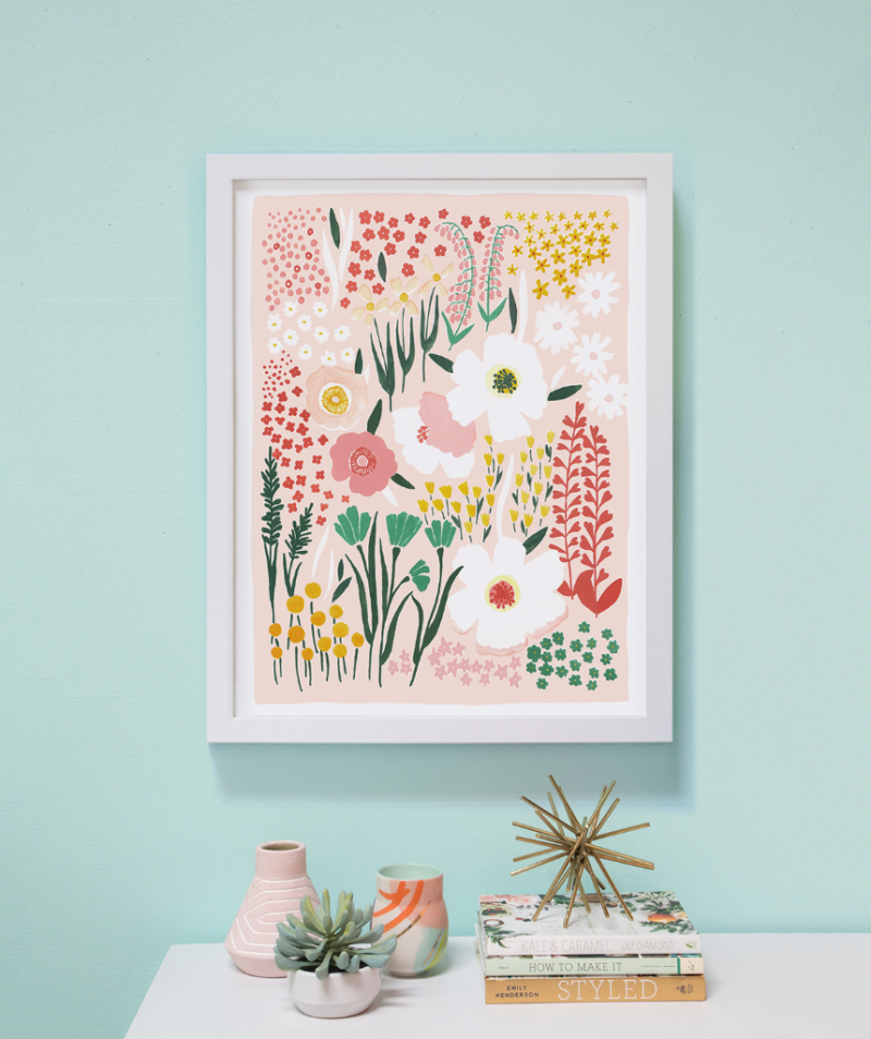 Groovy Garden print by Lisa Rupp / Oh Joy Shop!