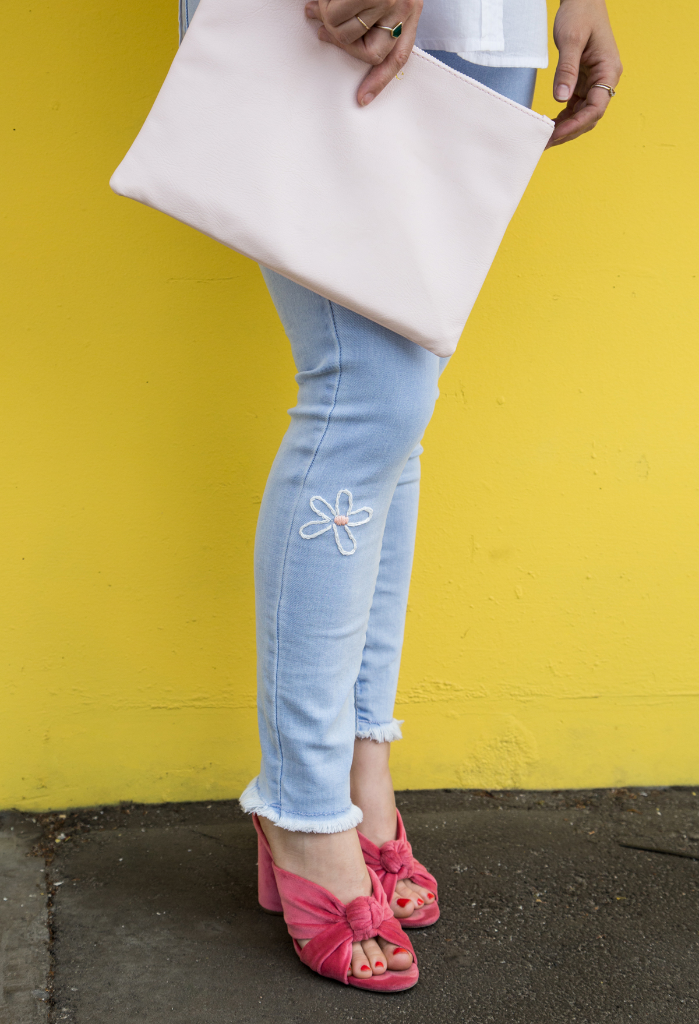 Daisy Jean Embroidery DIY / via Oh Joy!