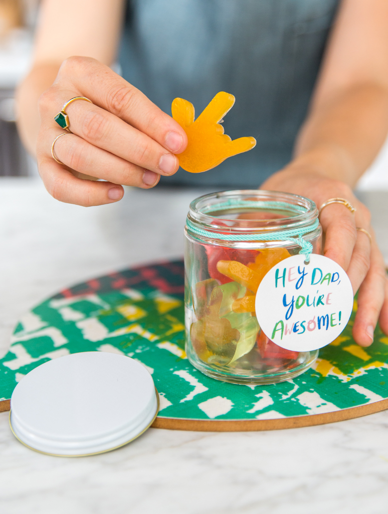 DIY Gummies for Father's Day! / via Oh Joy!