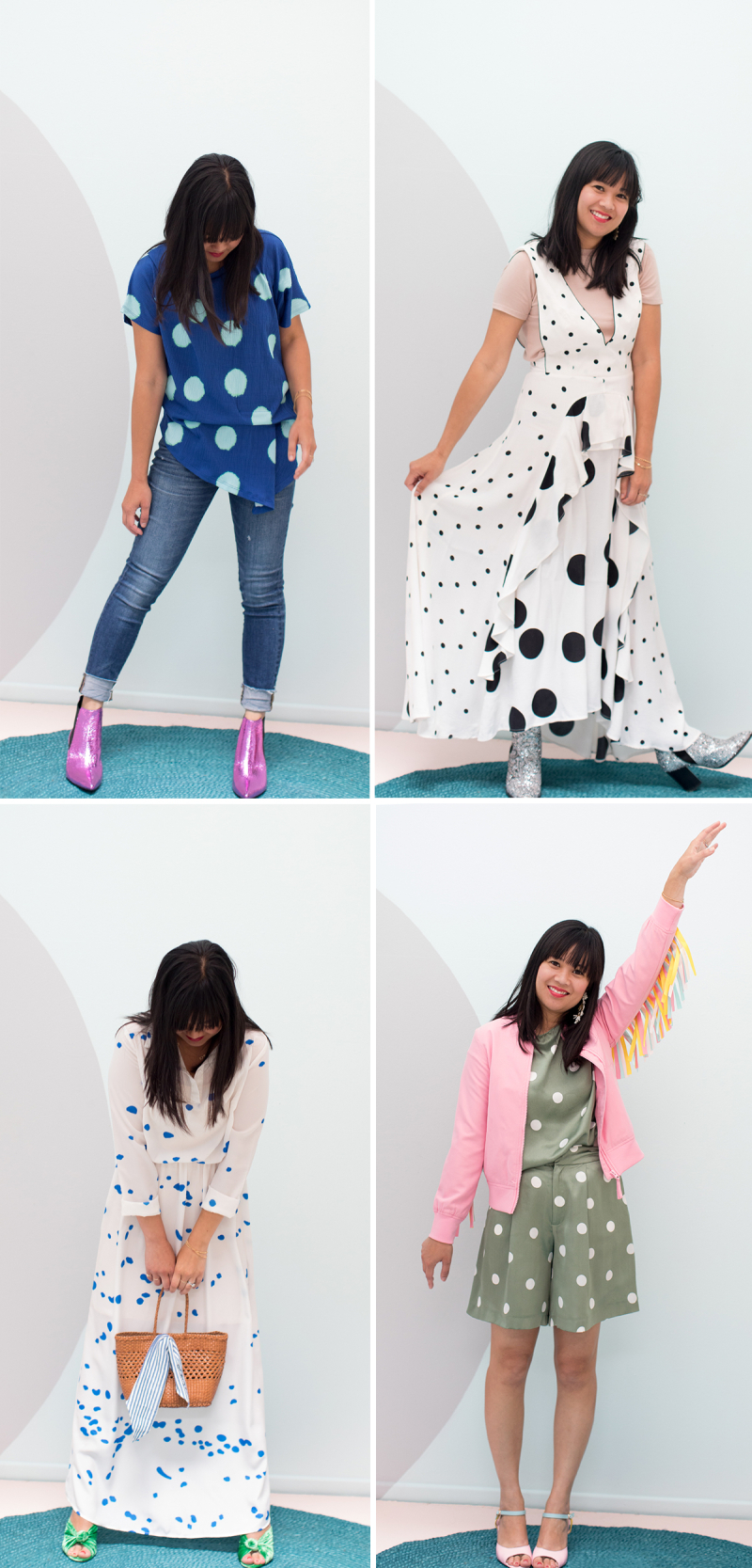 Pattern Adventures: Oh Joy Wears Jumbo Dots / via Oh Joy!