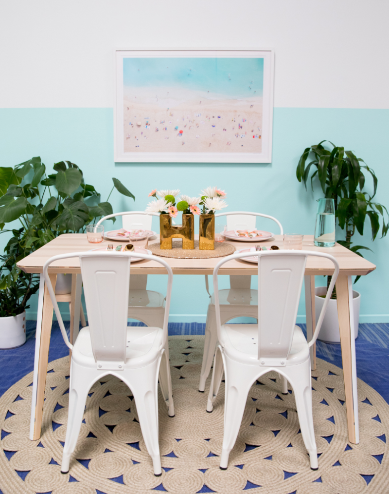 Ikea Table DIY / via Oh Joy!