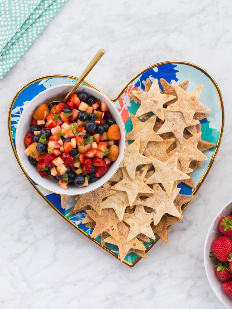 4th of July Berry Salsa / Recipe via Oh Joy!