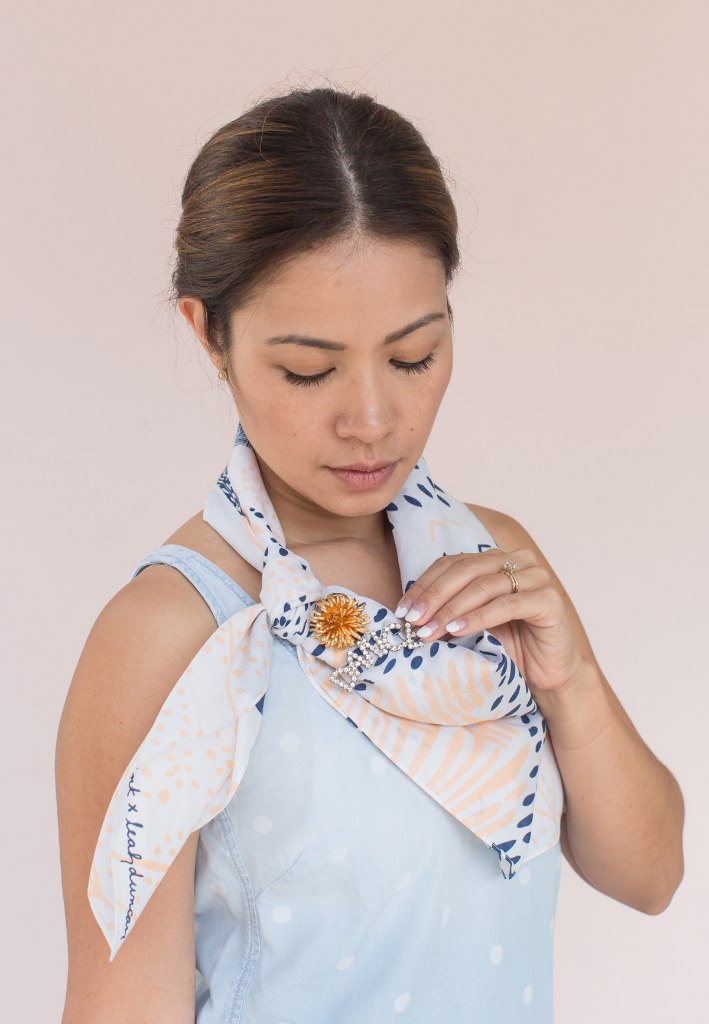 3 Ways to Wear Furoshiki / via Oh Joy!