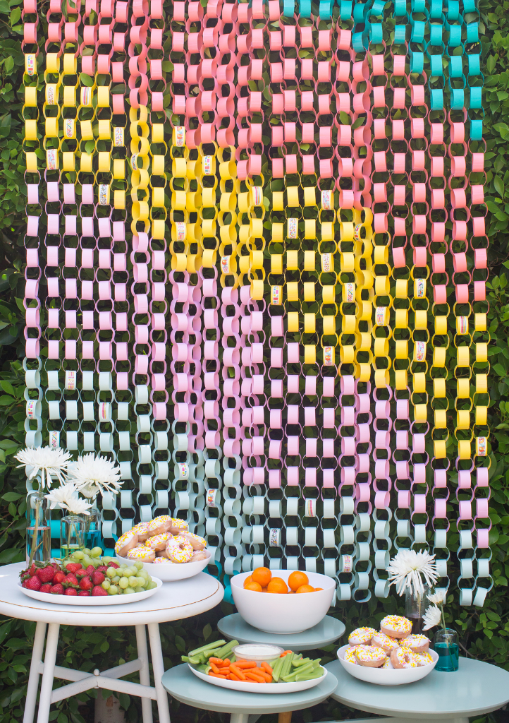 a rainbow-inspired backyard party / oh joy!