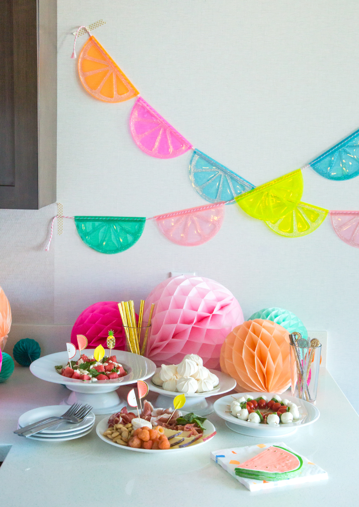 How to throw a packable party... / via Oh Joy!