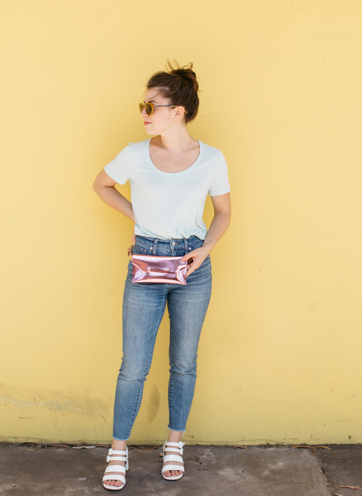 A DIY Belt Bag / via Oh Joy!