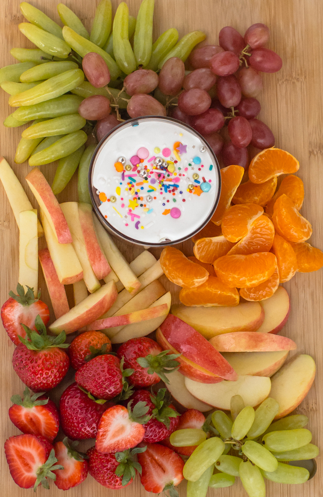 A Fruit Board Perfect for After School Snacking... / via Oh Joy!