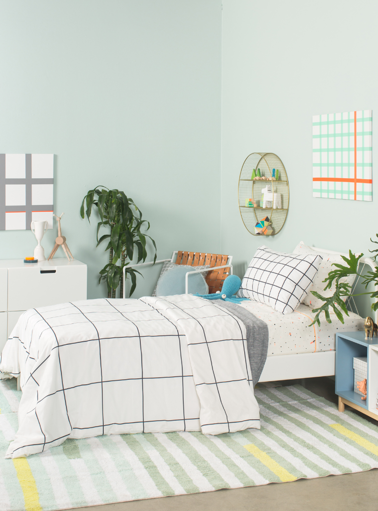 Pattern Adventures: A Grid Room / via Oh Joy!