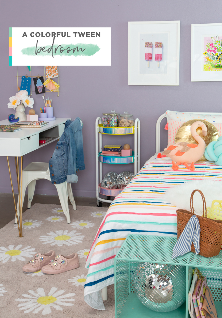 A Colorful Bedroom For A Tween Girl Oh Joy