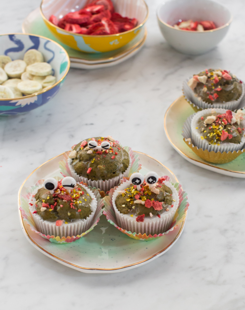Monster Muffins / Recipe via Oh Joy!