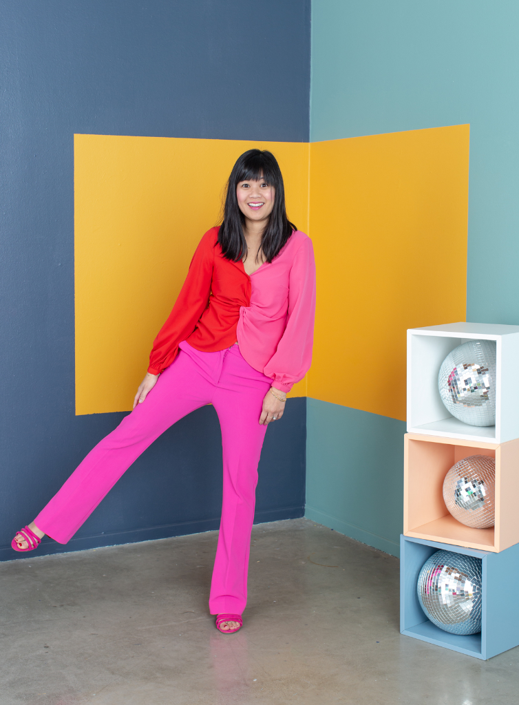 Pattern Adventures: Oh Joy Wears Colorblocking / via Oh Joy!