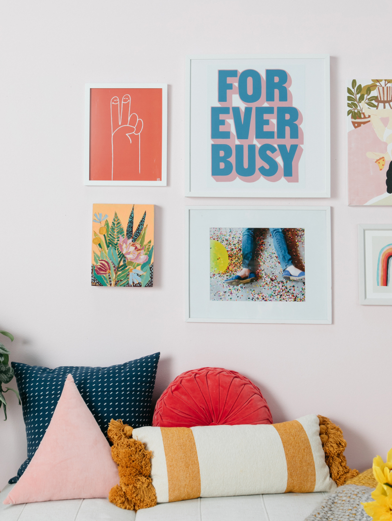 From Sweatshirt to Living Room... / via Oh Joy!