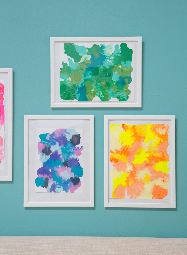 Smooshed Paint Art for Kids! / via Oh Joy!