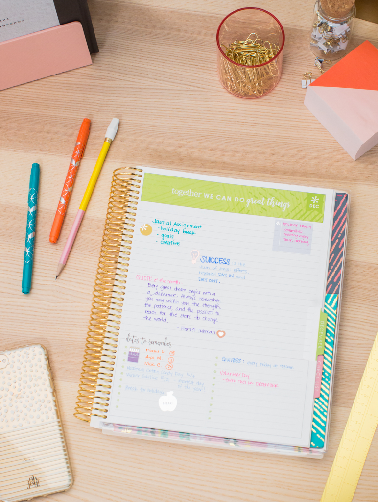 Oh Joy! for Erin Condren Teacher Planners