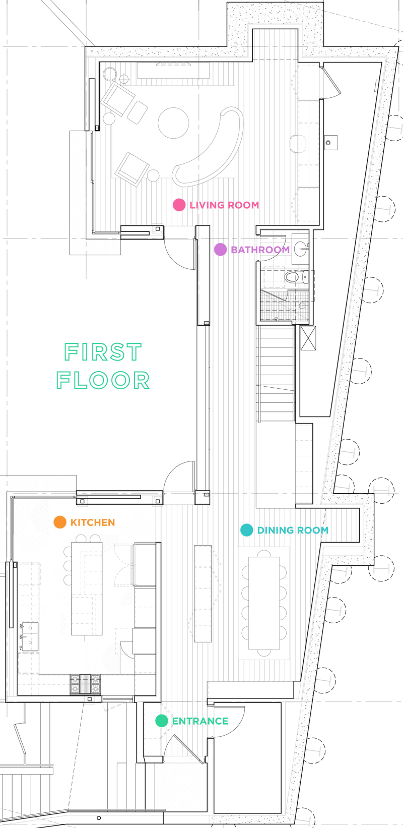 Oh Joy! Builds A House: The Interior Layout of our Home!