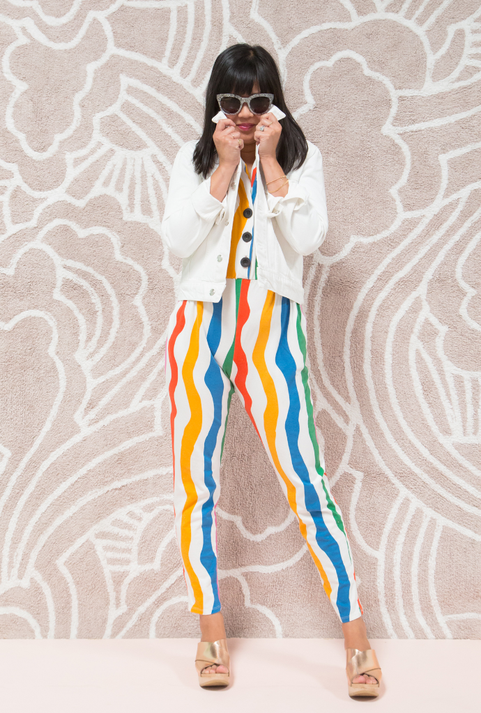 Pattern Adventures: Oh Joy! Wears Rainbow