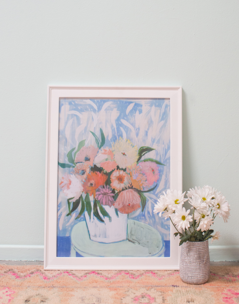 From Painting to Entryway... / via Oh Joy!