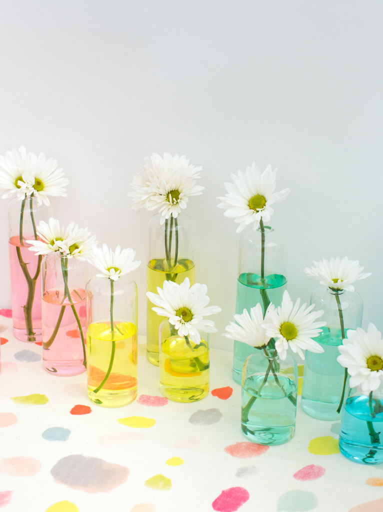Rainbow Vases DIY... / via Oh Joy!