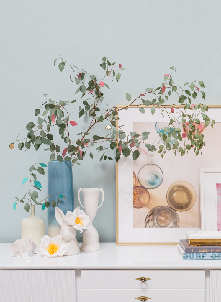 How to Style with Large Branches... / via Oh Joy!