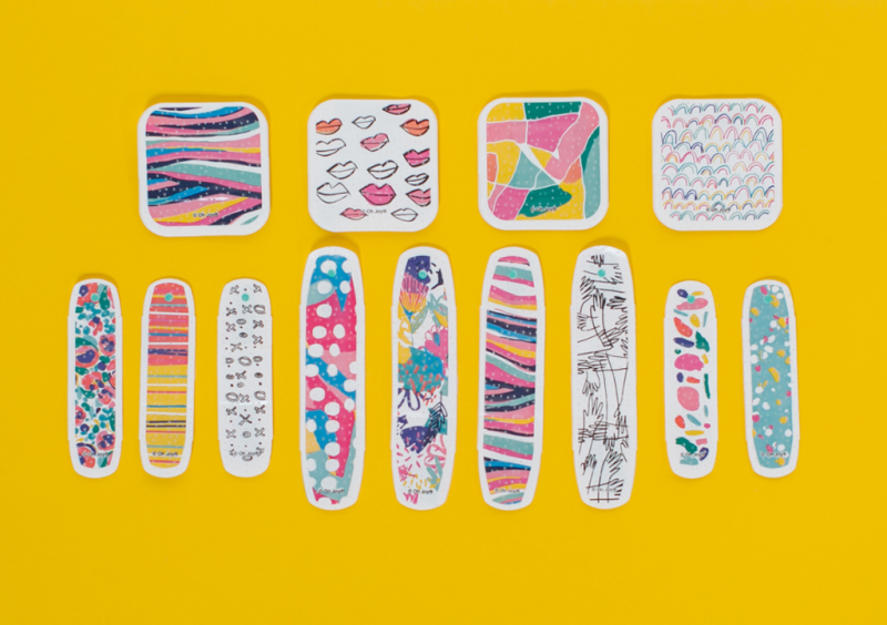 All Four Collections of Oh Joy! Band-Aids Over The Years... / 2017