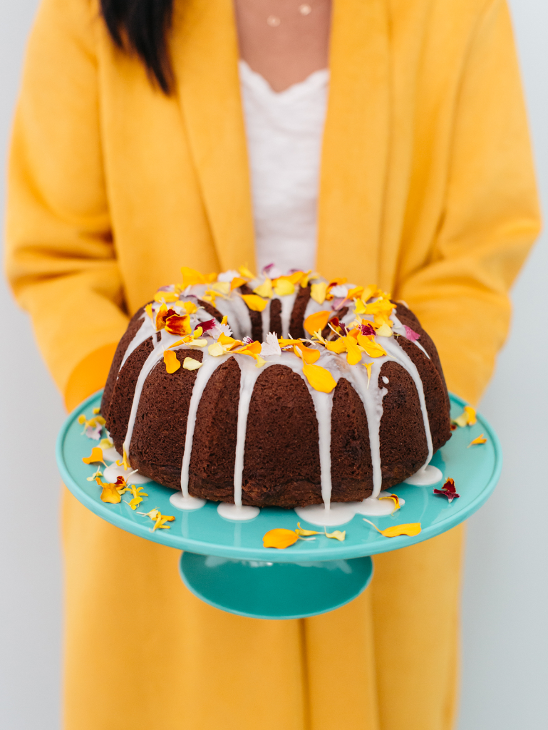 Pumpkin Chocolate Chip Bundt Cake / Recipe via Oh Joy!