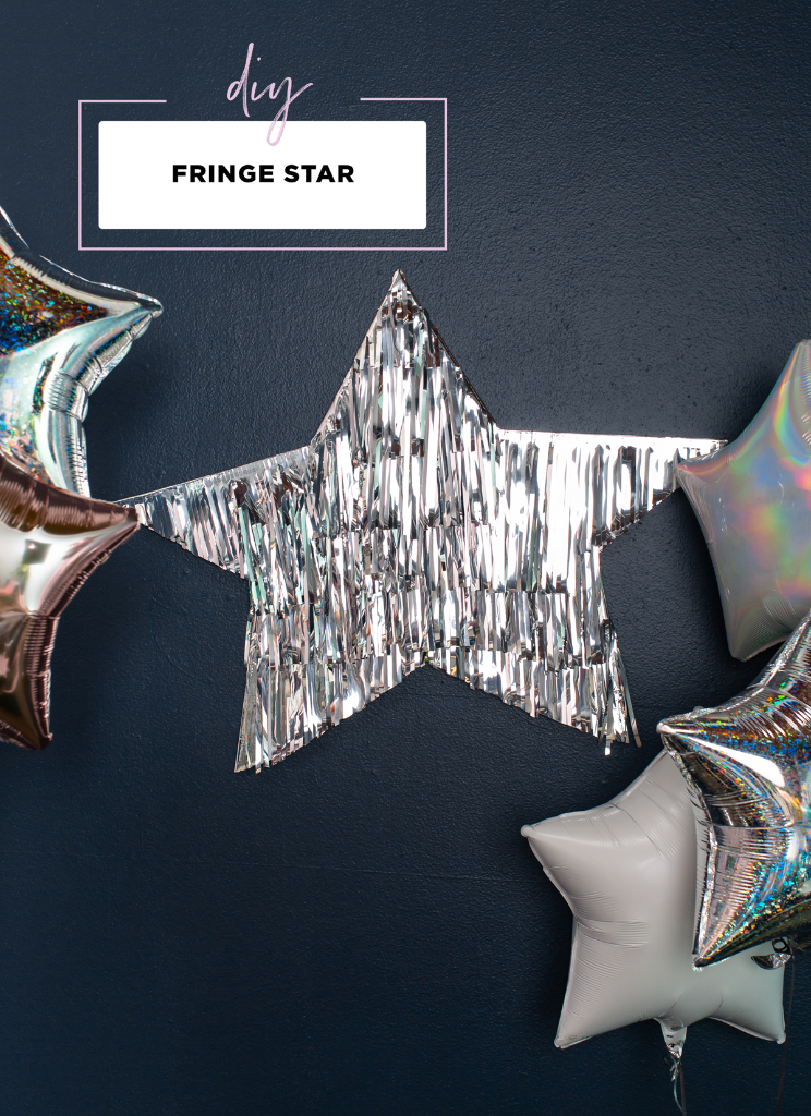 A Fringe Star DIY... / via Oh Joy!