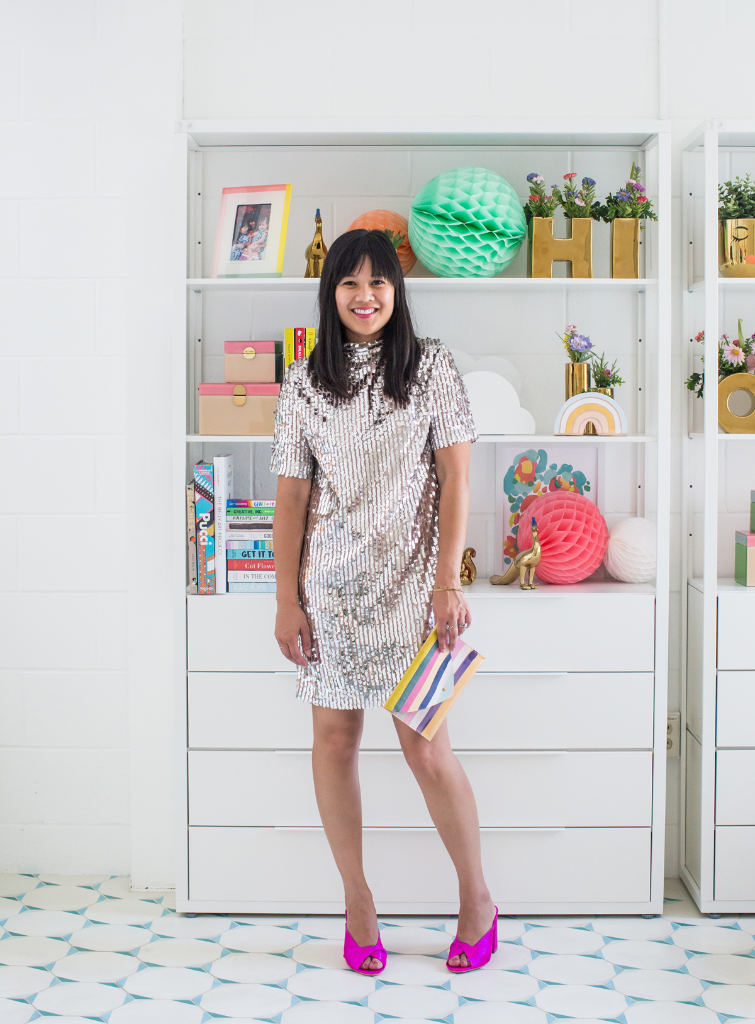 How to Style a Sequin Dress Three Ways / via Oh Joy!