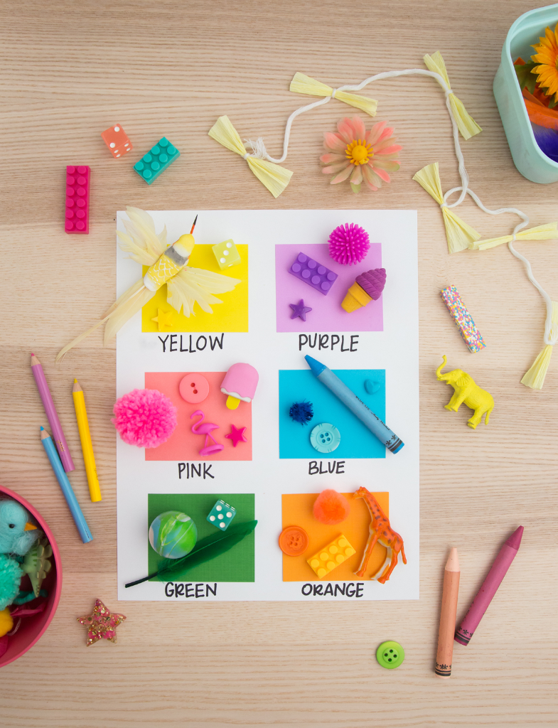 A Color Scavenger Hunt Game for Kids! - Oh Joy!