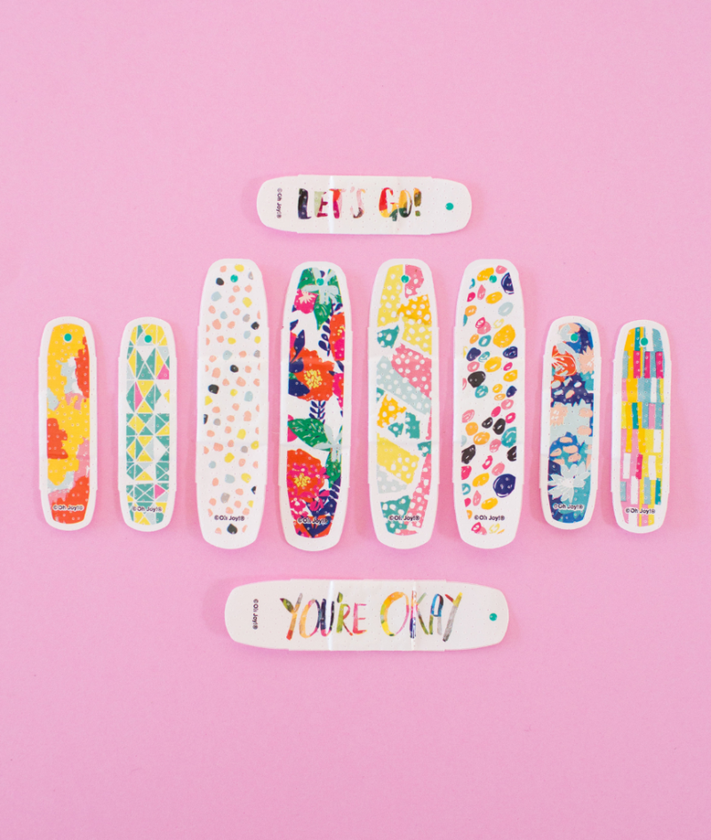 All Four Collections of Oh Joy! Band-Aids Over The Years... / 2016