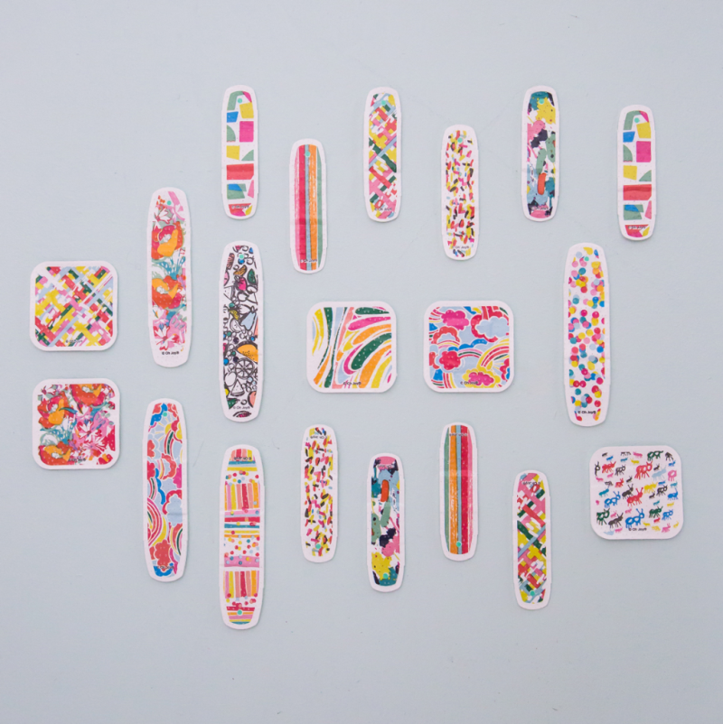 All Four Collections of Oh Joy! Band-Aids Over The Years... / 2018