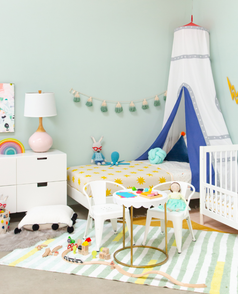 Gender Neutral Kids Room Ideas: A Gender Neutral Shared Kids' Room...