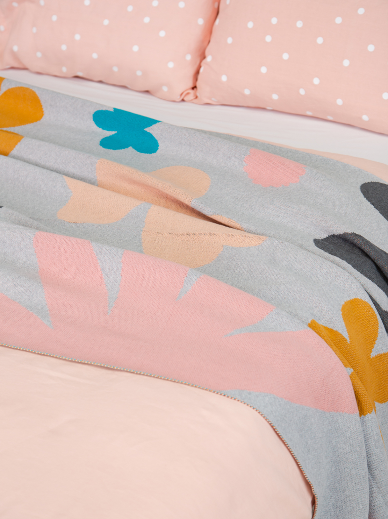 Castle in the Oh Joy! shop /  Petal Throw Blanket