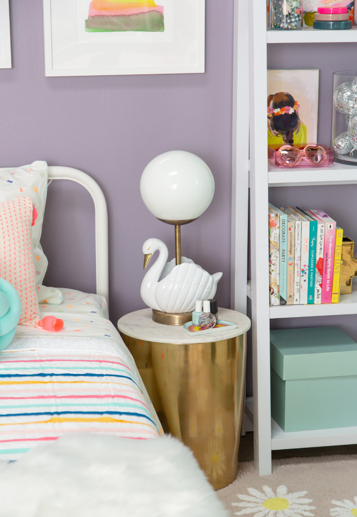 A Colorful Bedroom for a Tween Girl... / via Oh Joy!
