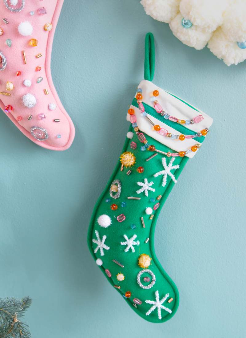 A Festive Stocking DIY... / via Oh Joy!
