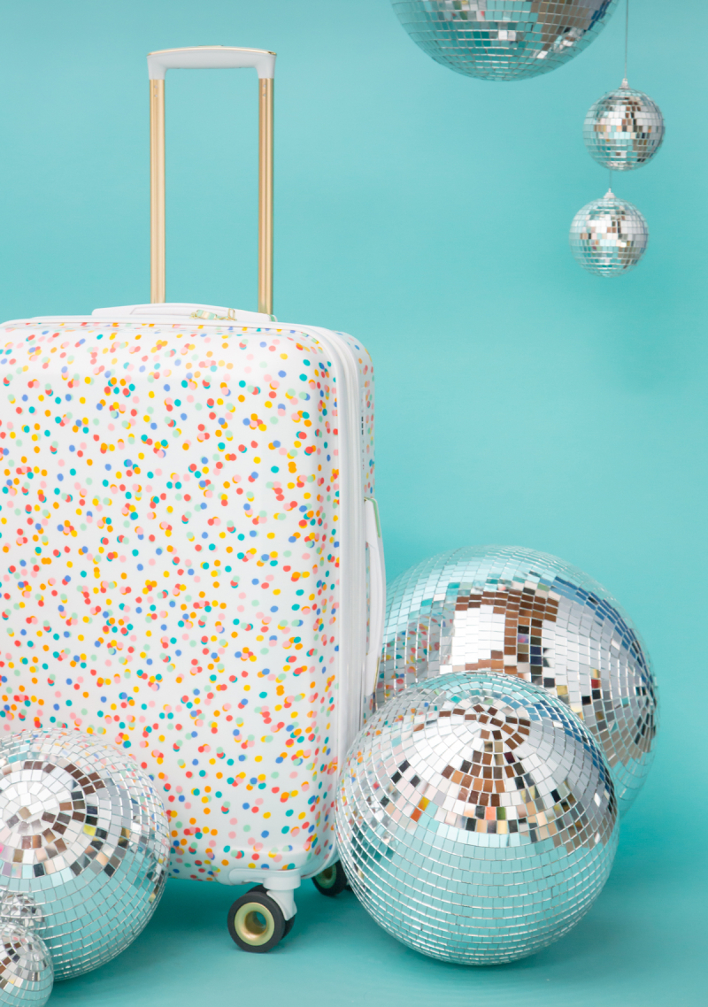 Oh Joy! for CALPAK Confetti Suitcase