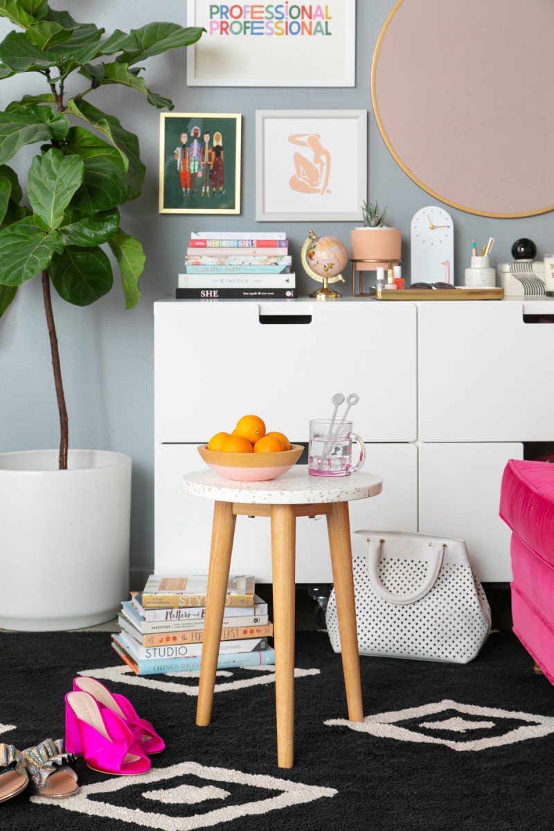 How to Style a Credenza 3 Different Ways... / via Oh Joy!
