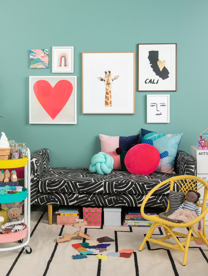 A Super Sophisticated Play Room... / via Oh Joy!