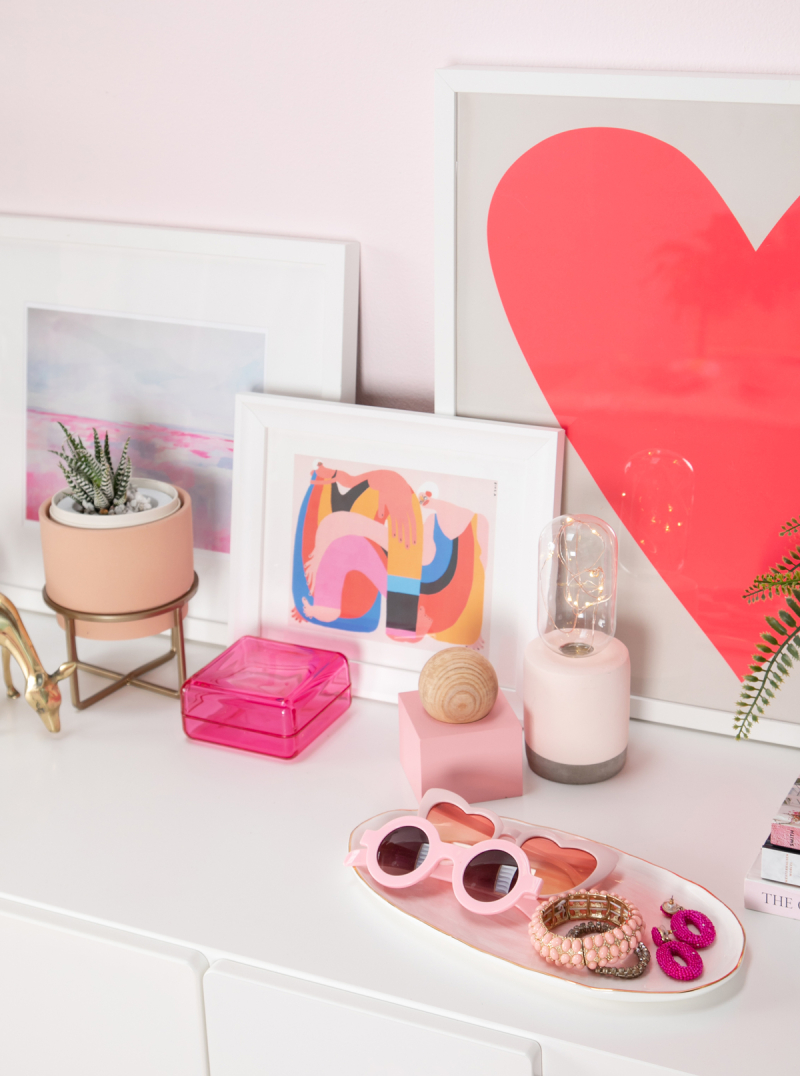 Color Adventures: A Pretty in Pink Room / ...via Oh Joy!