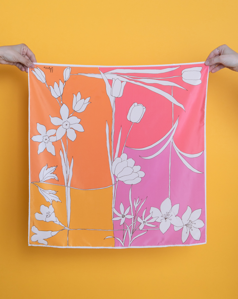 Now Open: The Oh Joy! Valentine's Day Shop / Vintage Silk Scarf