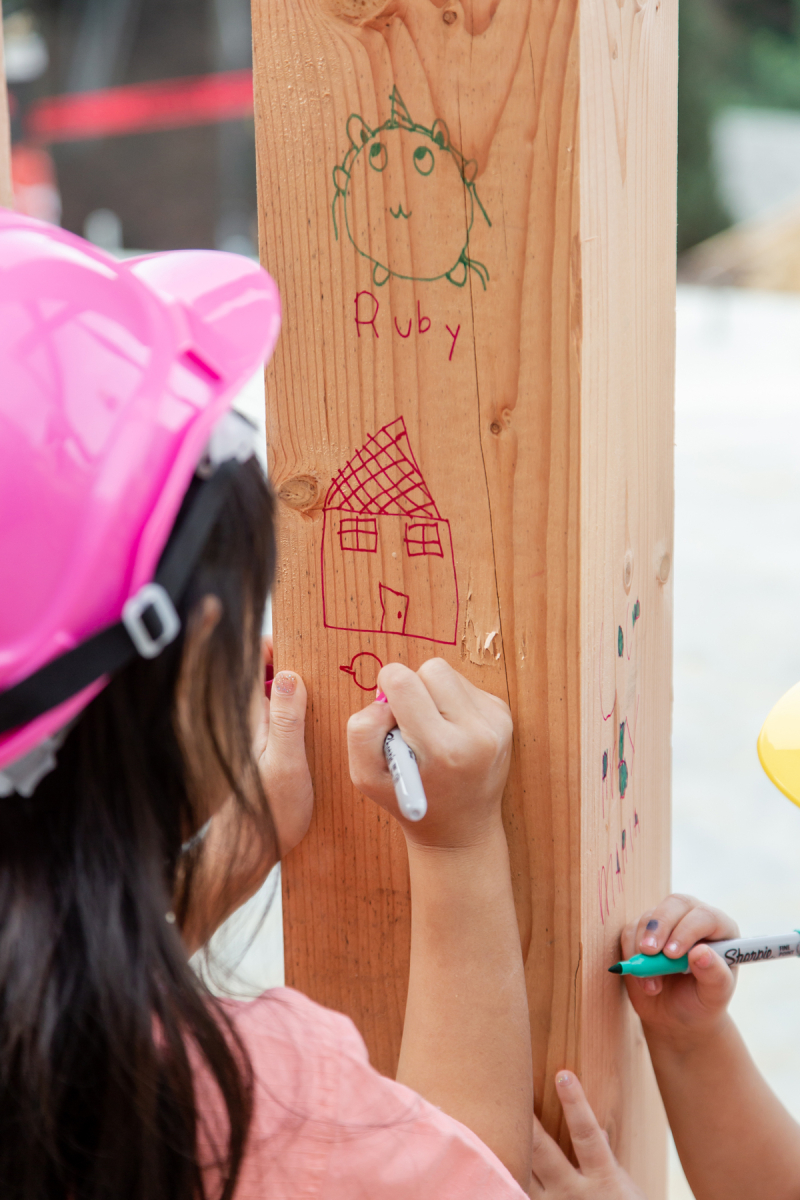 Oh Joy! Builds A House: Involving Your Kids in the Process!
