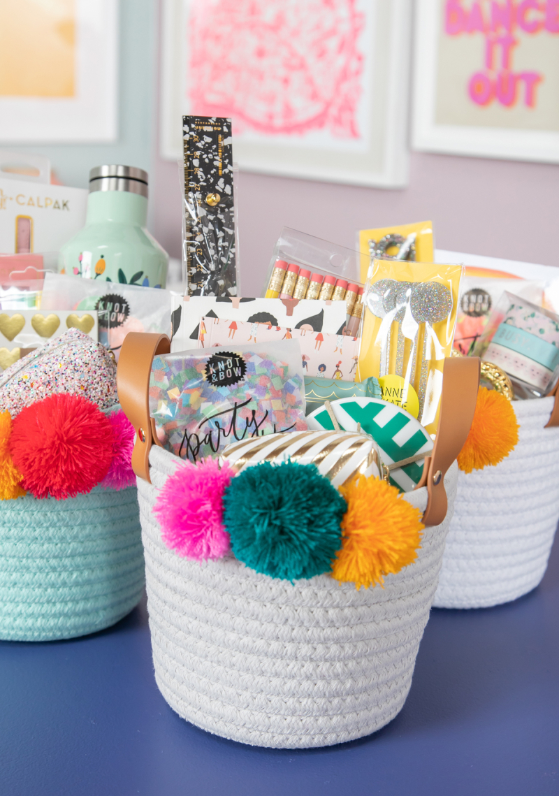 Teacher Appreciation Week / Gift Basket via Oh Joy!