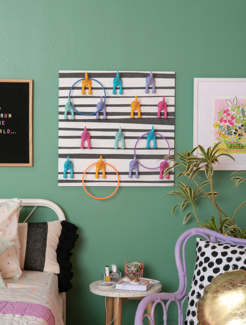 weekend project: a ring toss diy... / via oh joy!