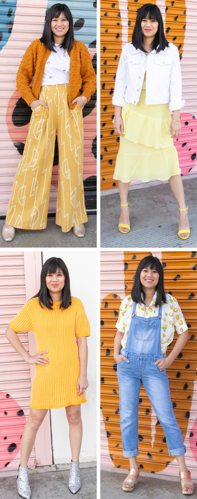Color Adventures: Oh Joy! Wears Yellow / via Oh Joy!