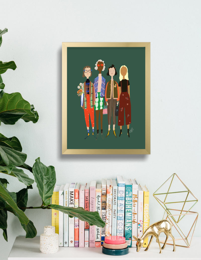 Better Together Print / PPL of Fashion in the Oh Joy! Shop
