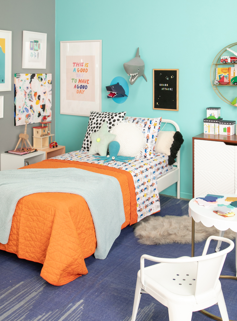 A Sea Theme Kid's Room / via Oh Joy!