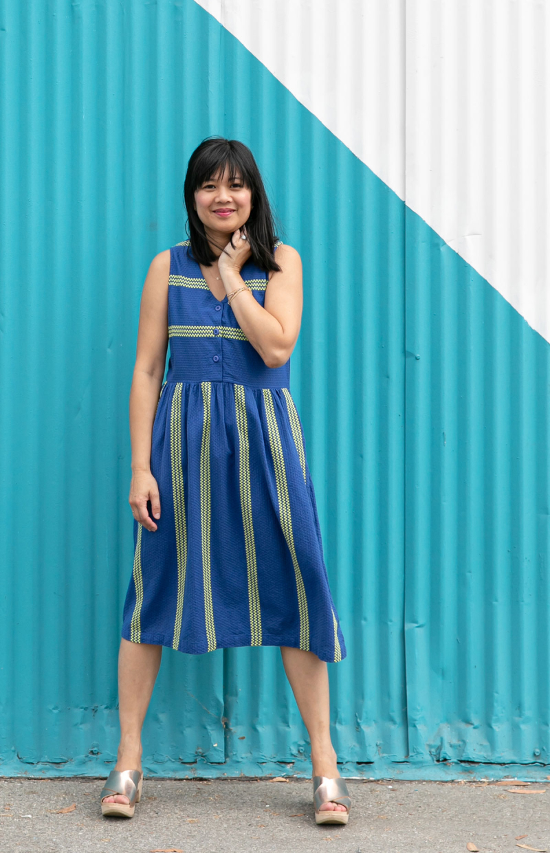 Color Adventures: Oh Joy! Wears Blue / via Oh Joy!