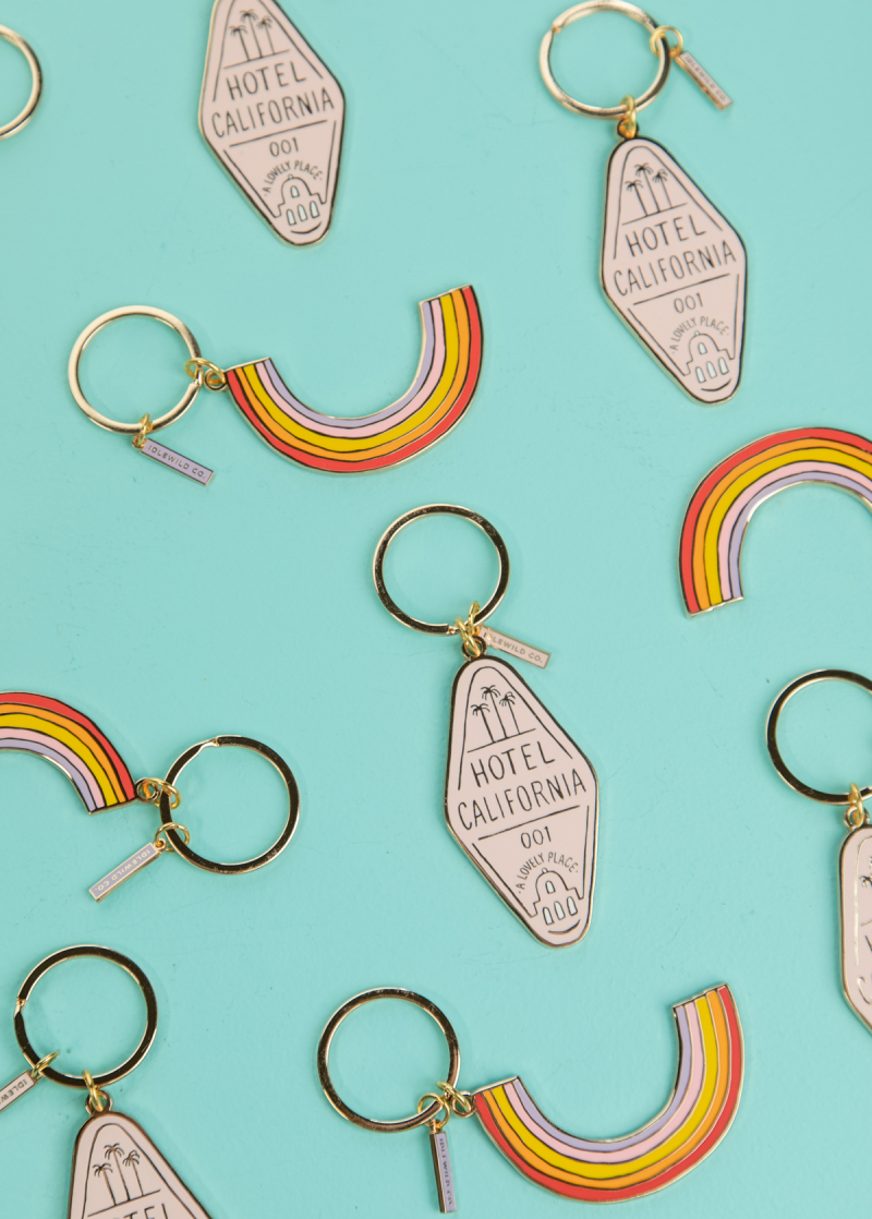 NEW Key Chains in the Oh Joy! Shop