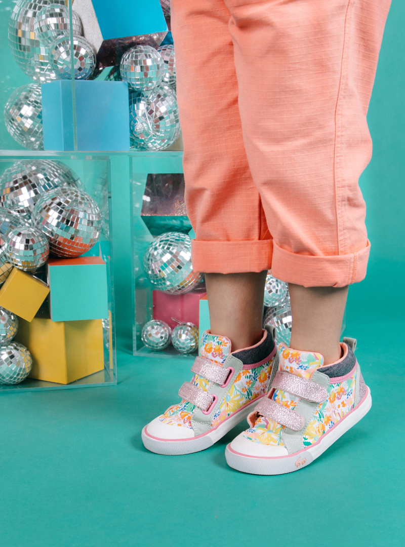 Oh Joy! for See Kai Run Bouncing Blooms High Tops